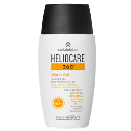 Heliocare 360 Gel Oil Free Bronze Intense Spf50 50ml