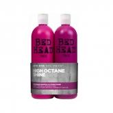 Tigi Bed Head Recharge High Octane Shine Shampooing 750ml Coffret 2 Produits