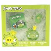 Angry Birds Pig Eau De Toilette Vaporisateur 50ml Coffret 3 Produits