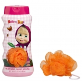 Cartoon Masha And The Bear Gel Douche 450ml Coffret 2 Produits