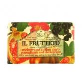 Nesti Dante Il Frutteto Pomegranate And Blackcurrant Savon 250g