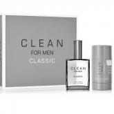 Clean For Men Classic Eau De Toilette Vaporisateur 60ml  Coffret 2 Produits 2017