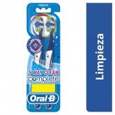 Oral-B Complete 5 Way Clean Cepillo De Dientes x2