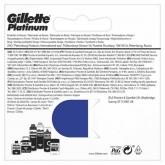 Gillette Platinum Recharge 5 Unités