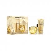 Paco Rabanne Lady Million Eau De Parfum Vaporisateur 80ml Coffret 3 Produits 2018