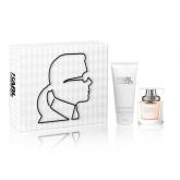 Karl Lagerfeld Femme Eau De Parfum Vaporisateur 45ml Coffret 2 Produits