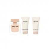 Narciso Rodriguez Poudree Eau De Parfum Vaporisateur 50ml Coffret 3 Produits 2018