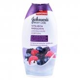 Johnsons Vita Rich Energisant Framboise Lotion Pour Le Corps 400ml