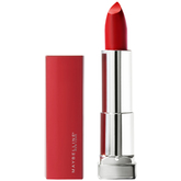 Maybelline Pintalabios Color Sensational Made For All 382 Red For Me Color Rojo Mate