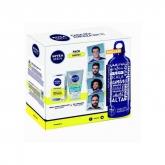 Nivea Men  Skin Energy Crème 50ml Coffret 3 Produits 2018