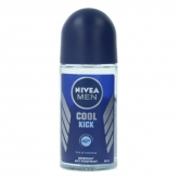 Nivea Men Cool Kick Déodorant Roll On 50ml
