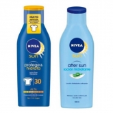 Nivea Aftersun 400ml Set 2 Pieces