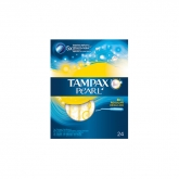 Tampax Pearl Regular Tampones Con Aplicador 24