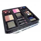 Markwins Color Workshop Silver Case 43 Pencils + Lipsticks + Nail Varnish + Eye Shadows