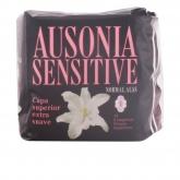 Ausonia Sensitive Normal Avec Ailettes Serviettes Hygiéniques 14 Unités