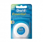 Oral-B Essential Floss Fil Dentaire Ciré Menthe 50m