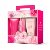 Grace Cole Rose And Peony Foam Bath 100ml Coffret 3 Produits 2018