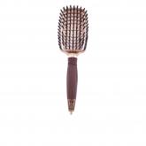Olivia Garden Nt Flex Brosse À Cheveux Ceramic + Ion Nano Thermic Flex Boar