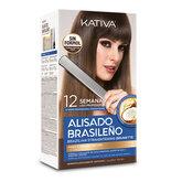 Kativa Alisado Brasileño Cabello Oscuro Set 6 Piezas 2020