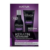 Kativa Keratin Post Alisado Xpress Set 2 Piezas 2020