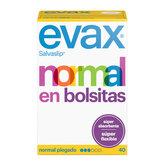Evax Salvaslip Normal Protegeslips 40 Unidades