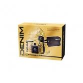 Denim Gold Eau De Toilette Vaporisateur 100ml Coffret 3 Produits