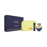 Versace Dylan Blue Femme Eau De Parfum Vaporisateur 100ml Coffret 3 Produits 2018