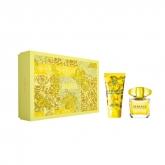 Versace Yellow Diamond Eau De Toilette Vaporisateur 30ml Coffret 2 Produits 2018