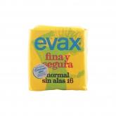 Evax Fina y Segura Normal Compresas 16 Uds.