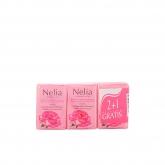Nelia Agua De Rosas Savon 3x125g