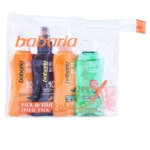 Babaria Travel Pack Coffret 5 Produits 2018