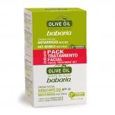 Babaria Olive Oil Traitement Crème De Nuit 50ml Coffret 2 Produits