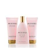 Aire De Sevilla Rose Eau De Toilette Spray 150ml Set 3 Piezas