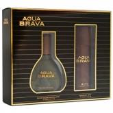 Puig Agua Brava Eau De Cologne Vaporisateur 100ml Coffret 2 Produits