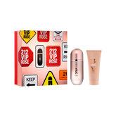 212 Vip Rose Eau De Toilette Spray 50ml Set 2 Piezas 2020