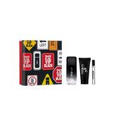 Carolina Herrera 212 Vip Black Eau De Toilette Spray 100ml Set 3 Piezas 2020