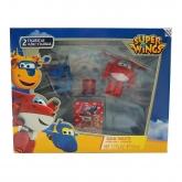 Disney Super Wings Eau De Toilette Vaporisateur 50ml Coffret 3 Produits