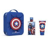 Marvel Capitan America Eau De Toilette Spray 100ml Set 3 Piezas 2020