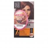 Llongueras Color Advance Coffee Salon Collection Hair Colour 6.34 Rubio Oscuro Dorado Cobrizo