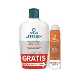 Ecran Aftersun Leche Hidratante Calmante 400ml + Ecran Sunnique Bruma Invisible Spf30 Spray 75ml