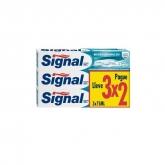 Signal Micro Granules Dentifrice 3x75ml
