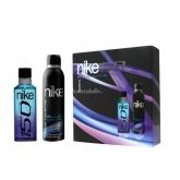 Nike Blue Wave Eau De Toilette Vaporisateur 150ml Coffret 2 Produits