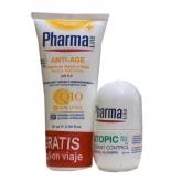 Pharmaline Crème Mains 75ml Et Déodorant Control 25ml Coffret 2 Produits
