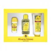 Alvarez Gómez Agua De Colonia Spray 150ml Set 3 Piezas 2019