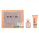 Benetton United Dreams Eau De Toilette Vaporisateur 80ml Coffret 2 Produits 2015