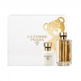Prada La Femme Eau De Parfum Vaporisateur 50ml Coffret 2 Produits 2018