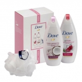 Dove Radiant Beauty Purely Pampering Gel Douche 250ml Coffret 3 Produits 2019