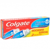 Colgate Protection Caries Dentifrice 2x75ml