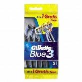 Gillette Blue3 4+1 Unidades