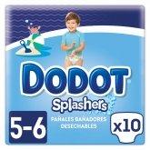 Dodot Splashers Pañales Bañadores T-5 10 Unidades
